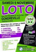 Loto de Gondreville  54840 Gondreville du 09-11-2019 à 18:00 au 09-11-2019 à 23:00