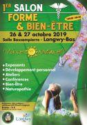 1er Salon Forme et Bien-Etre Longwy 54400 Longwy du 26-10-2019 à 10:00 au 27-10-2019 à 18:30