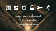 Escape Game Halloween Bambiderstroff 57690 Bambiderstroff du 01-11-2019 à 14:00 au 02-11-2019 à 19:00