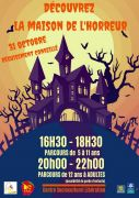 Halloween à Bar-le-Duc Maison de l'Horreur  55000 Bar-le-Duc du 31-10-2019 à 16:30 au 31-10-2019 à 22:00