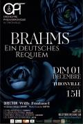 Concert Brahms Ein deutches Requiem à Thionville 57100 Thionville du 01-12-2019 à 15:00 au 01-12-2019 à 17:00