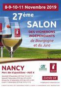 Salon des Vignerons Indépendants à Nancy Parc Expo 54500 Vandoeuvre-lès-Nancy du 08-11-2019 à 15:00 au 11-11-2019 à 17:00