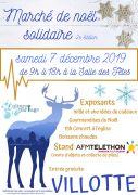 Marché de Noël Solidaire à Villotte
