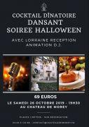 Halloween au Château de Morey Cocktail Dînatoire Dansant 54610 Belleau du 26-10-2019 à 19:30 au 26-10-2019 à 23:59