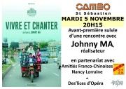 Avant-première du film Vivre et Chanter à Nancy 54000 Nancy du 05-11-2019 à 20:15 au 05-11-2019 à 23:00