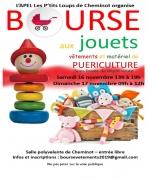 Bourse aux vêtements enfants jouets  puériculture à Cheminot 57420 Cheminot du 16-11-2019 à 13:00 au 17-11-2019 à 12:00