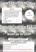 Soirée Réveillon Nouvel An à Lunéville 54300 Lunéville du 31-12-2019 à 20:00 au 01-01-2020 à 04:00