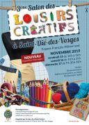 Salon des Loisirs Créatifs à Saint-Dié-des-Vosges 88100 Saint-Dié-des-Vosges du 15-11-2019 à 10:00 au 17-11-2019 à 18:00