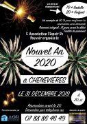 Soirée Réveillon Nouvel An à Chenevières 54122 Chenevières du 31-12-2019 à 20:00 au 01-01-2020 à 04:30