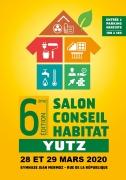 Salon Conseil Habitat de Yutz 57970 Yutz du 28-03-2020 à 10:00 au 29-03-2020 à 18:00