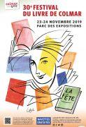 Festival du Livre de Colmar Alsace 68000 Colmar  du 23-11-2019 à 09:00 au 24-11-2019 à 18:00