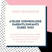 Atelier Sophrologie Parents/Enfants à Villers-lès-Nancy