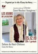 Saint Nicolas, t'exagères ! à Essey-lès-Nancy 54270 Essey-lès-Nancy du 05-12-2019 à 20:00 au 05-12-2019 à 21:30