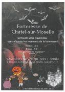 Soirée Epouvante à Châtel-sur-Moselle 88330 Châtel-sur-Moselle du 09-11-2019 à 18:00 au 09-11-2019 à 21:00