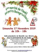 Marché Noël des Petits Baingrivilois Bainville-aux-Miroirs 54290 Bainville-aux-Miroirs du 17-11-2019 à 10:00 au 17-11-2019 à 18:00