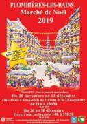 Marché de Noël à Plombières-les-Bains 88370 Plombières-les-Bains du 30-11-2019 à 11:00 au 30-12-2019 à 19:30