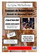 Concert de Sainte-Cécile à Saint-Michel-sur-Meurthe 88470 Saint-Michel-sur-Meurthe du 16-11-2019 à 20:30 au 16-11-2019 à 23:59