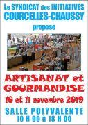Salon Artisanat et Gourmandise à Courcelles-Chaussy 57530 Courcelles-Chaussy du 10-11-2019 à 10:00 au 11-11-2019 à 18:00