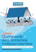 Quinzaine des Librairies du Grand-Est