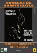 Concert de Sainte-Cécile à Thierville-sur-Meuse 55840 Thierville-sur-Meuse du 17-11-2019 à 15:00 au 17-11-2019 à 17:00