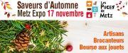 Marché Saveurs d'Automne à Metz 57000 Metz du 17-11-2019 à 07:00 au 17-11-2019 à 17:00