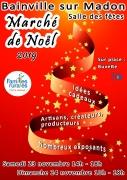 Marché de Noël à Bainville-sur-Madon 54550 Bainville-sur-Madon du 23-11-2019 à 14:00 au 24-11-2019 à 18:00