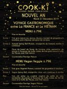 Réveillon Nouvel An Restaurant Cook-ki à Nancy 54000 Nancy du 31-12-2019 à 19:00 au 31-12-2019 à 23:59