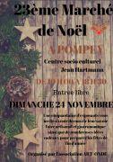 Marché de Noël à Pompey 54340 Pompey du 24-11-2019 à 10:00 au 24-11-2019 à 18:30
