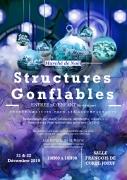 Structures gonflables et Marché de Noël à Joeuf 54240 Joeuf du 21-12-2019 à 10:00 au 22-12-2019 à 18:00