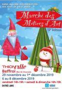 Marché Noël des Métiers d'Art de Thionville 57100 Thionville du 29-11-2019 à 14:00 au 08-12-2019 à 19:00