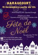Marché de Noël à Haraucourt 54110 Haraucourt du 15-12-2019 à 12:00 au 15-12-2019 à 19:00