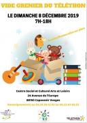 Vide Grenier Solidaire Capavenir Vosges 88150 Thaon-les-Vosges du 08-12-2019 à 07:00 au 08-12-2019 à 18:00