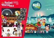 Fêter Noël et Saint-Nicolas à Metz et Nancy Nancy, Metz du 22-11-2019 à 10:00 au 05-01-2020 à 22:00