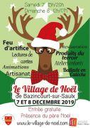 Village de Noël de Bazincourt-sur-Saulx 55170 Bazincourt-sur-Saulx du 07-12-2019 à 15:00 au 08-12-2019 à 17:00