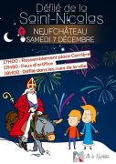 Saint Nicolas à Neufchâteau Défilé Saint Nicolas 88300 Neufchâteau du 07-12-2019 à 17:00 au 07-12-2019 à 19:00