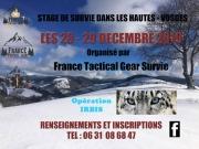 Stage de Survie dans les Hautes-Vosges La Bresse 88250 La Bresse du 28-12-2019 à 08:00 au 29-12-2019 à 17:30