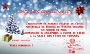 Marché de Noël Fresnes-en-Woëvre 55160 Fresnes-en-Woëvre du 15-12-2019 à 13:30 au 15-12-2019 à 17:30