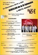 Réveillon Nouvel An à Metz-Magny 57000 Metz du 31-12-2019 à 20:00 au 01-01-2020 à 02:00