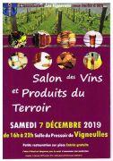 Salon Vins et Produits du Terroir à Vigneulles 54360 Vigneulles du 07-12-2019 à 16:00 au 07-12-2019 à 22:00