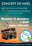 Concert de Noël à Ainvelle 88320 Ainvelle du 15-12-2019 à 15:00 au 15-12-2019 à 16:30