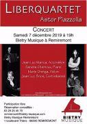 Concert Remiremont Liberquartet 88200 Remiremont du 07-12-2019 à 19:00 au 07-12-2019 à 21:00