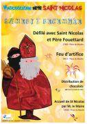 Défilé Saint-Nicolas à Vaucouleurs 55140 Vaucouleurs du 07-12-2019 à 17:00 au 07-12-2019 à 19:30