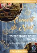 Concert de Noël par la Philharmonie La Lorraine à Hayange 57700 Hayange du 20-12-2019 à 20:30 au 20-12-2019 à 23:00