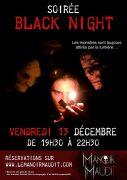 Soirée Black Night au Manoir Maudit Laval-sur-Vologne 88600 Laval-sur-Vologne du 13-12-2019 à 19:00 au 13-12-2019 à 23:59