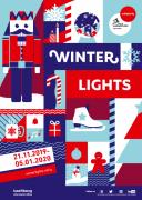 Marchés de Noël Winterlights à Luxembourg Luxembourg-ville Luxembourg du 21-11-2019 à 08:00 au 05-01-2020 à 21:00