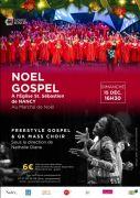 Concert de Noël en Gospel à Nancy 54000 Nancy du 15-12-2019 à 16:30 au 15-12-2019 à 20:00