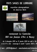 Exposition Pays sages de Lorraine à Nancy 54000 Nancy du 10-12-2019 à 12:00 au 31-01-2020 à 22:00