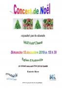 Concert de Noël à Autreville-sur-Moselle 54380 Autreville-sur-Moselle du 15-12-2019 à 15:30 au 15-12-2019 à 17:00