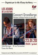 Concert de GrandLarge à Essey-lès-Nancy 54270 Essey-lès-Nancy du 23-01-2020 à 20:30 au 23-01-2020 à 22:00