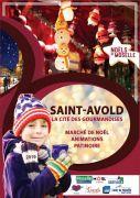 Marché de Noël à Saint-Avold 57500 Saint-Avold du 07-12-2019 à 15:00 au 02-01-2020 à 17:00